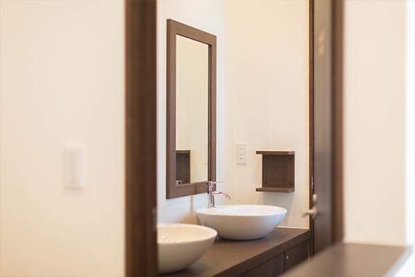 FR恵比寿の洗面所