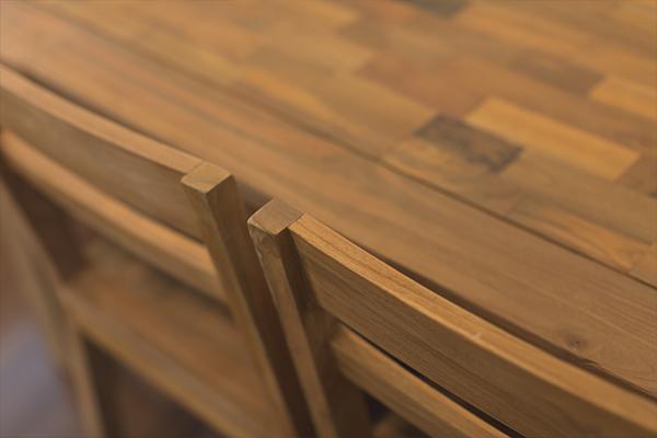 FR恵比寿のリビングテーブル