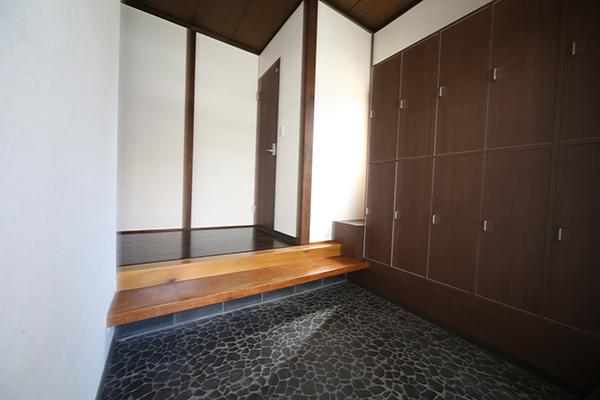 和風の玄関