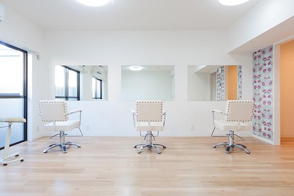 美容師専門の練習スペース