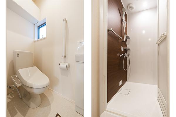 FR新小岩トイレ、シャワールーム