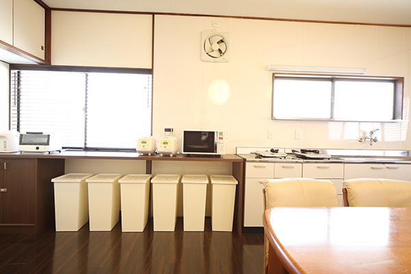 キッチンと調理器具